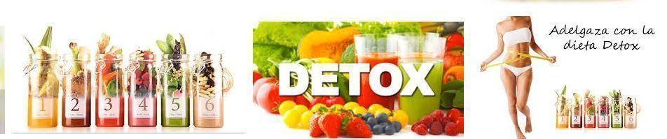 adelgaza seguro con la dieta detox