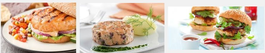 haburguesas con salmon