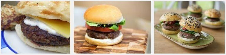 hamburguesas de cordero
